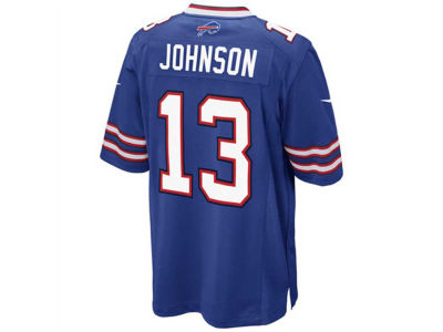 Buffalo Bills Stevie Johnson Nike NFL Men's Game Jersey