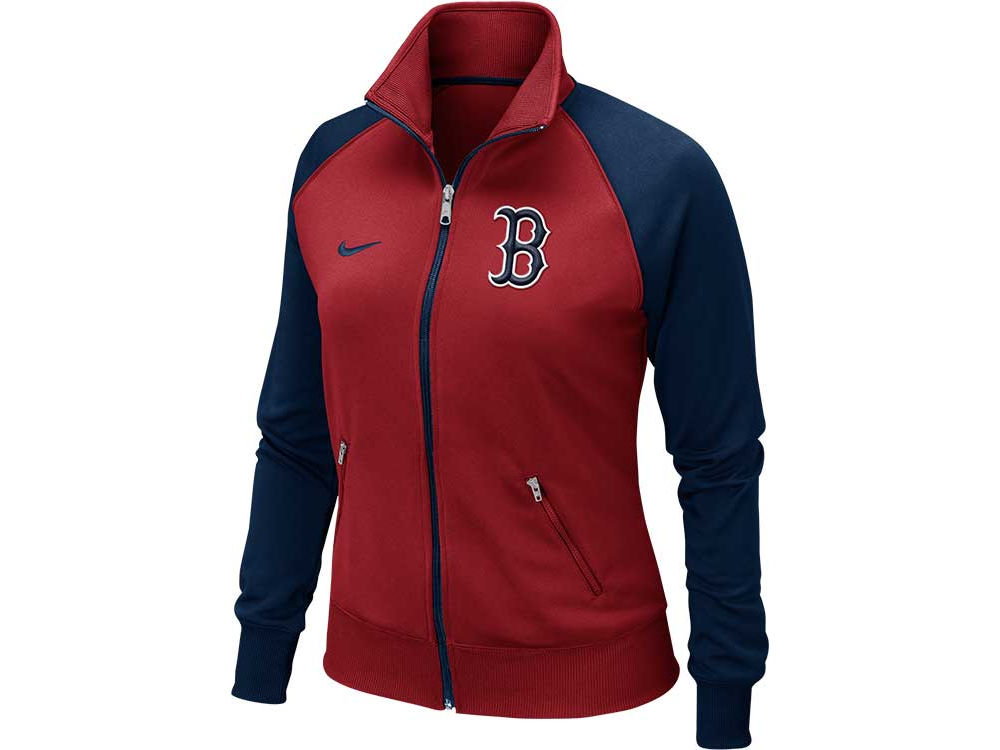 Boston Red Sox Nike MLB Women s Track Jacket 2013  840ddf3c38