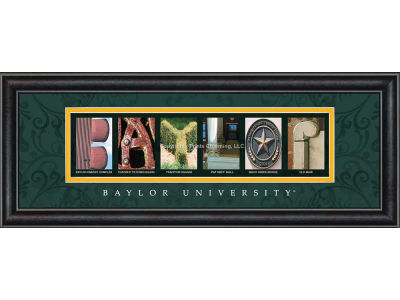 Baylor Bears Campus Letter Art