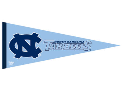North Carolina Tar Heels 12x30in Pennant