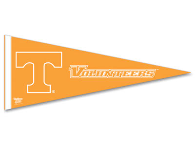Tennessee Volunteers 12x30in Pennant