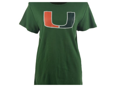 Miami Hurricanes NCAA  Womens Babydoll T-Shirt