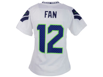 Seattle Seahawks Fan #12 Nike NFL Youth Game Jersey