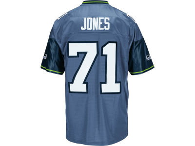 Seattle Seahawks Walter Jones Reebok NFL Replica M&N Jersey