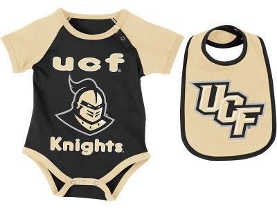 University of Central Florida Knights NCAA Newborn Junior Creeper/Bib Set