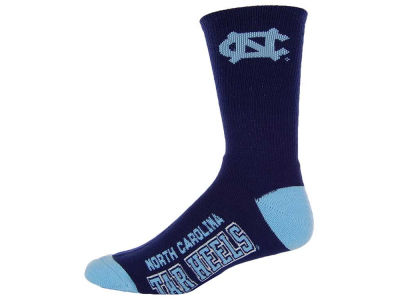 North Carolina Tar Heels Deuce Crew 504 Socks