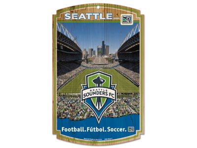 Seattle Sounders FC 11x17 Wood Sign