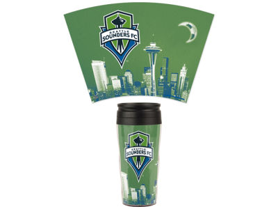 Seattle Sounders FC 16oz Contour Travel Mug