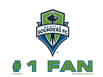 Seattle Sounders FC 3x4 Ultra Decal