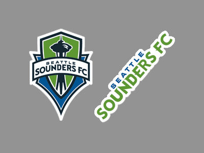 Seattle Sounders FC 2-pack 4x4 Die Cut Decal