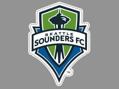 Seattle Sounders FC Die Cut Magnet