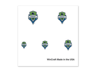 Seattle Sounders FC Wincraft Tattoo Nail