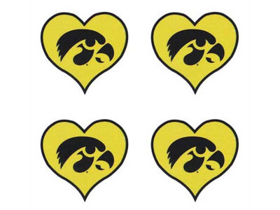 Iowa Hawkeyes Waterless Game Face Tattoo