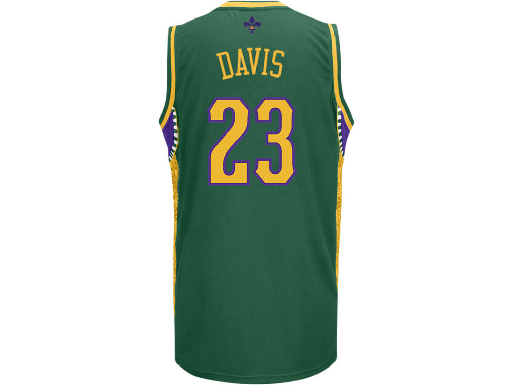 7191d2b01 ... best price new orleans hornets anthony davis nba youth mardi gras  swingman jersey 43eb9 30dcd