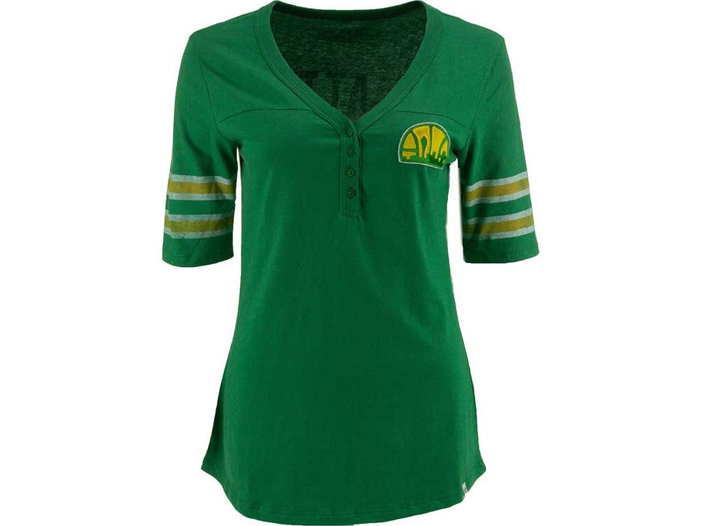 Seattle SuperSonics  47 NBA Womens Playoff T-Shirt  20b1a0f8b8