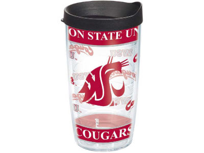 Washington State Cougars 16oz Wrap Tumbler With Lid