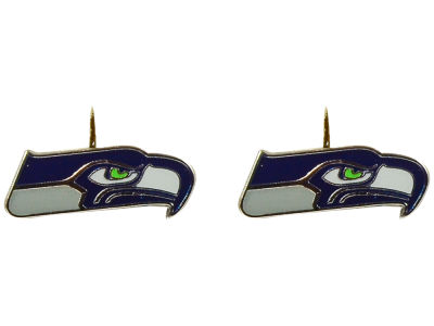 Seattle Seahawks Logo Post Earrings