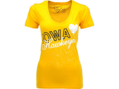 Iowa Hawkeyes NCAA Womens Baiely Vneck T-Shirt