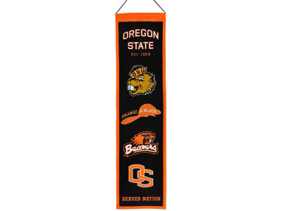 Oregon State Beavers Heritage Banner