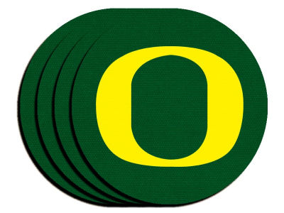 Oregon Ducks 4-pack Neoprene Coaster Set