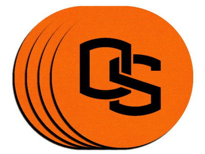 Oregon State Beavers 4-pack Neoprene Coaster Set