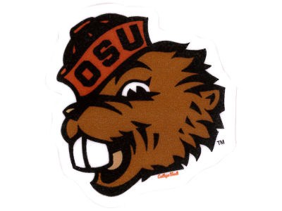 Oregon State Beavers 4x4 Die Cut Decal Color