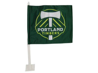 Portland Timbers Car Flag