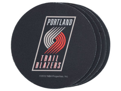 Portland Trail Blazers 4-pack Neoprene Coaster Set