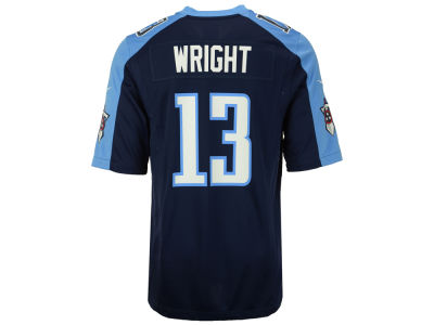 Tennessee Titans Kendall Wright Nike NFL Men's Game Jersey