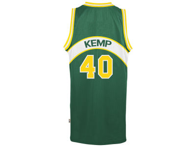 Seattle SuperSonics Shawn Kemp adidas NBA Men's Retired Player Swingman Jersey