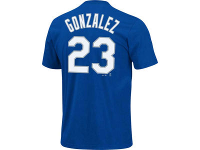 Los Angeles Dodgers Adrian Gonzalez Majestic MLB Youth Player T-Shirt