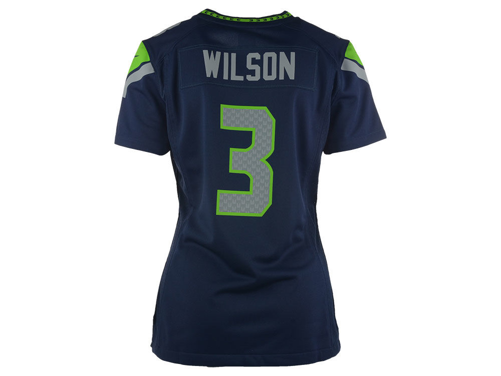 Seattle Seahawks Russell Wilson Nike NFL Women s Game Jersey  5cd57aed1
