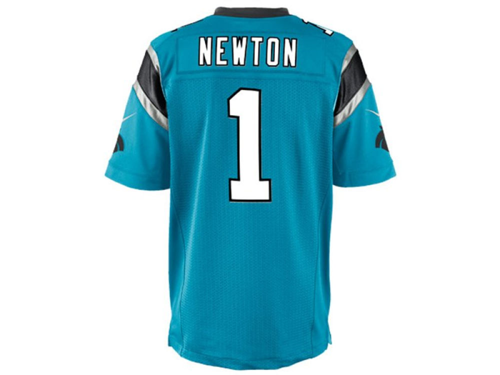Carolina Panthers Cam Newton Nike NFL Men s Game Jersey  b81102332