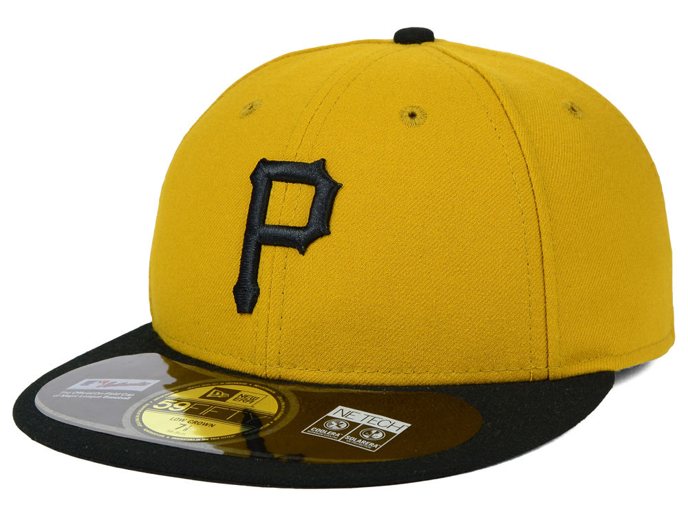 promo code f660a aa3f5 ... black the league 9forty adjustable hat  pittsburgh pirates new era mlb  low profile ac performance 59fifty cap ...