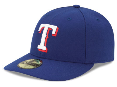 Texas Rangers New Era MLB Low Profile AC Performance 59FIFTY Cap