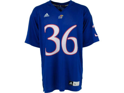 Kansas Jayhawks #36 adidas NCAA Replica Football Jersey