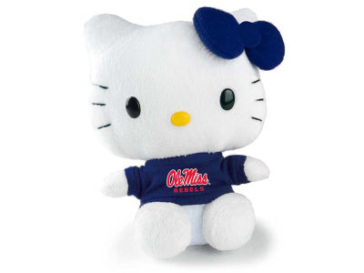 "Ole Miss Rebels 6"" Hello Kitty"