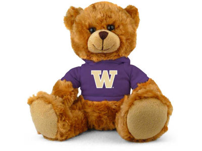 "Washington Huskies 9"" Hoodie Bear"
