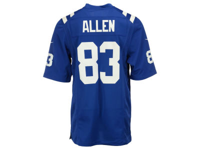 Indianapolis Colts Dwayne Allen Nike NFL Men's Game Jersey