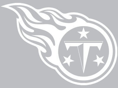 "Tennessee Titans Die Cut Decal 8""x8"""