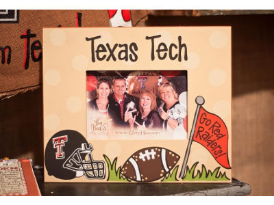 Texas Tech Red Raiders Artwork Frame 10x12
