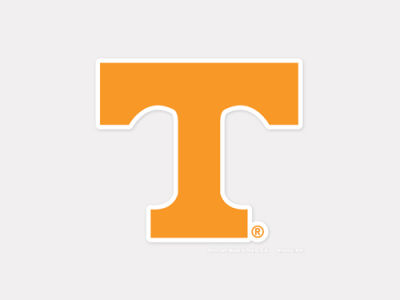 Tennessee Volunteers 4x4 Die Cut Decal Color