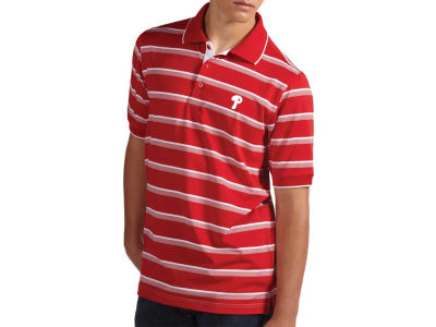 Philadelphia Phillies MLB Men's Sideline Polo Shirt