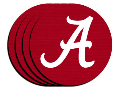 Alabama Crimson Tide 4-pack Neoprene Coaster Set