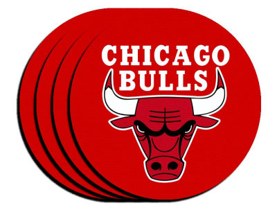 Chicago Bulls 4-pack Neoprene Coaster Set