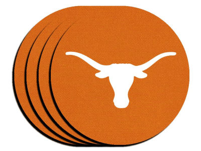 Texas Longhorns 4-pack Neoprene Coaster Set