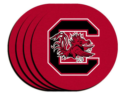 South Carolina Gamecocks 4-pack Neoprene Coaster Set