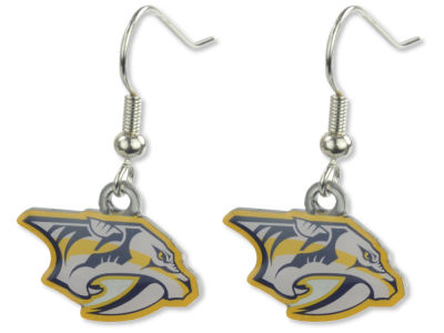 Nashville Predators Logo Earrings