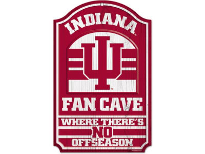 Indiana Hoosiers 11x17 Wood Sign