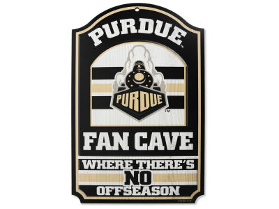 Purdue Boilermakers 11x17 Wood Sign